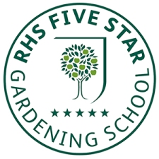 RHS Five Star Gardening School Logo